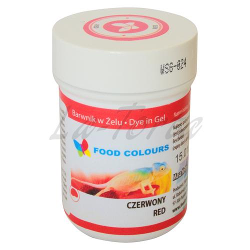 Гелевая краска Food Colours Красная