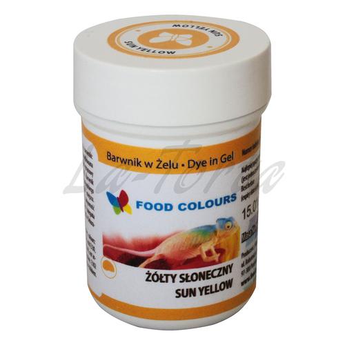 Гелевая краска Food Colours Солнечно-желтый