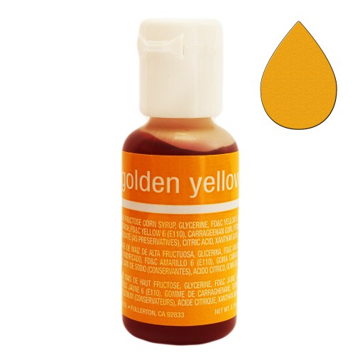 Гелевый краситель Chefmaster Liqua-Gel Golden Yellow