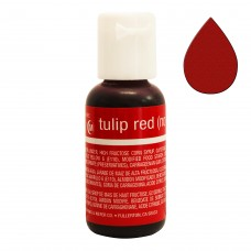 Гелевий барвник Chefmaster Liqua-Gel Tulip Red