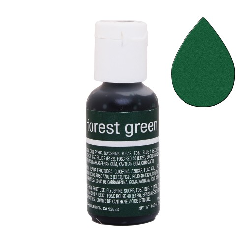 Гелевий барвник Chefmaster Liqua-Gel Forest Green