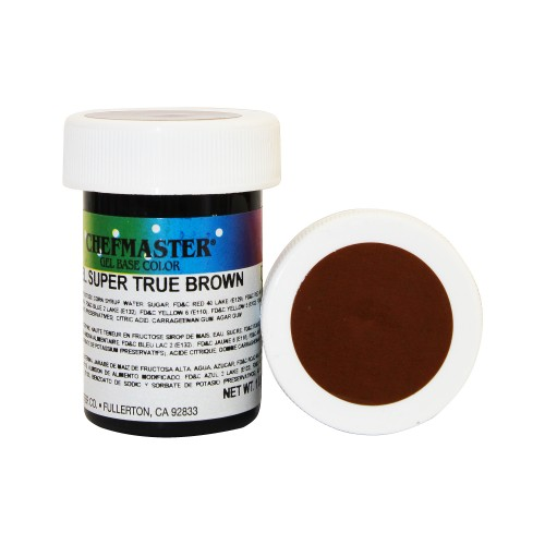 Гель-фарба Base Color Chefmaster True Brown 28грам