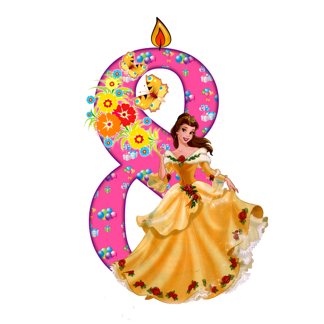 Открытка девочке 8 лет