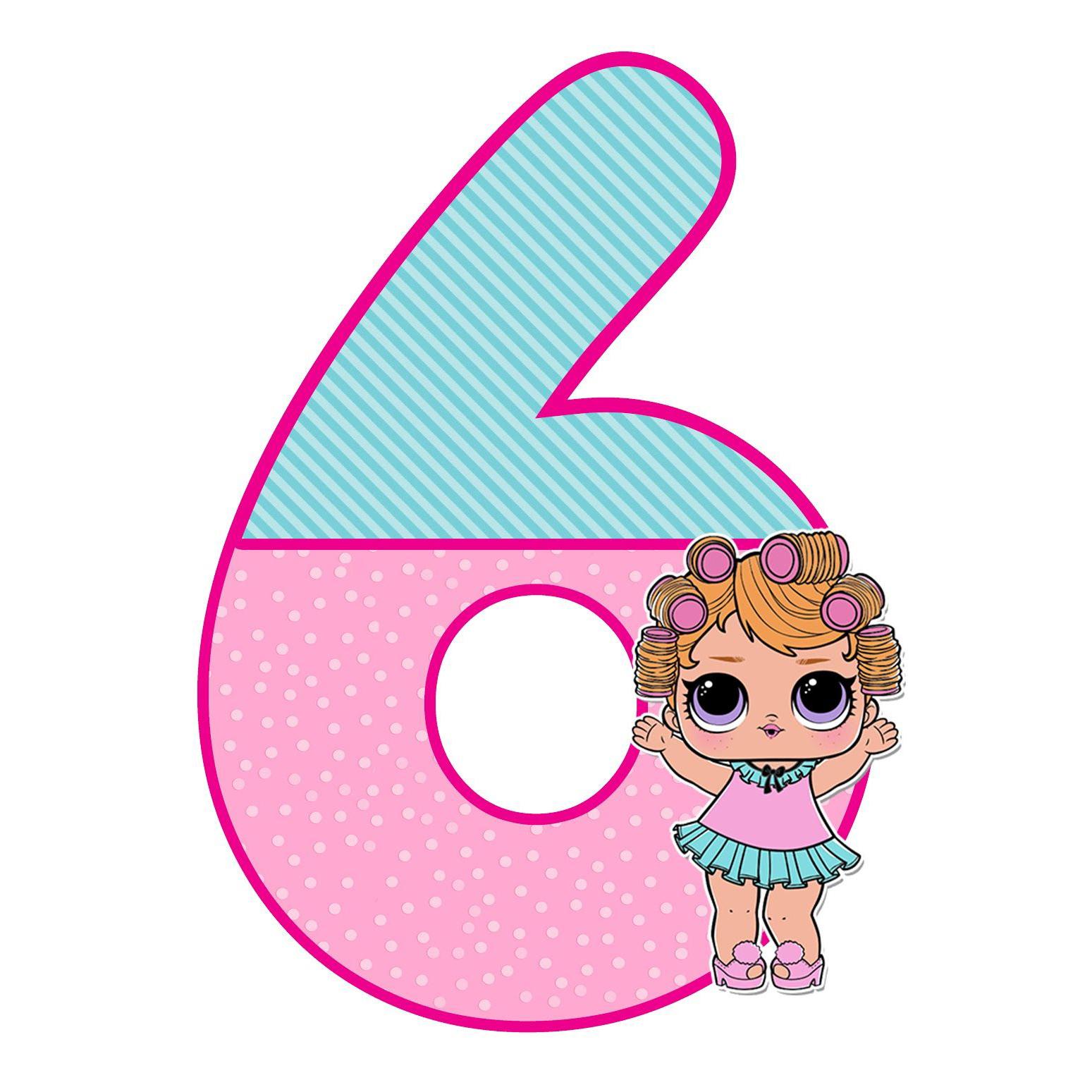 Поздравление с днем рождения девочке 6 лет картинки с лол, днем